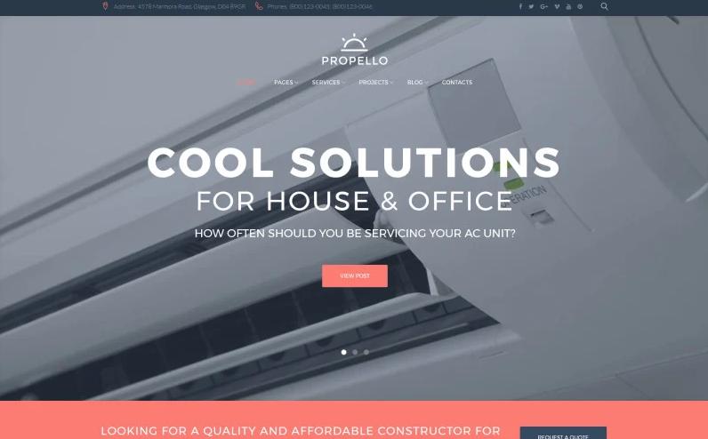 Top 3 HVAC Website Templates